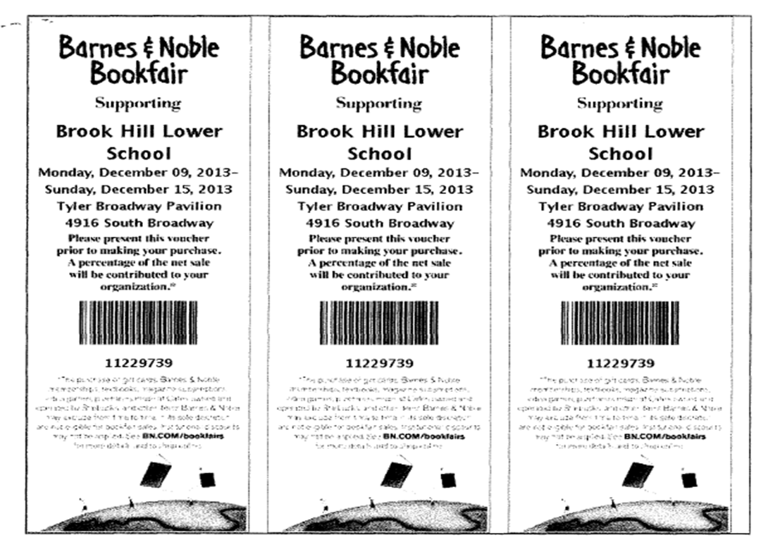 Brook Hill Lower School at Barnes and Noble! | Brook Hill School ...