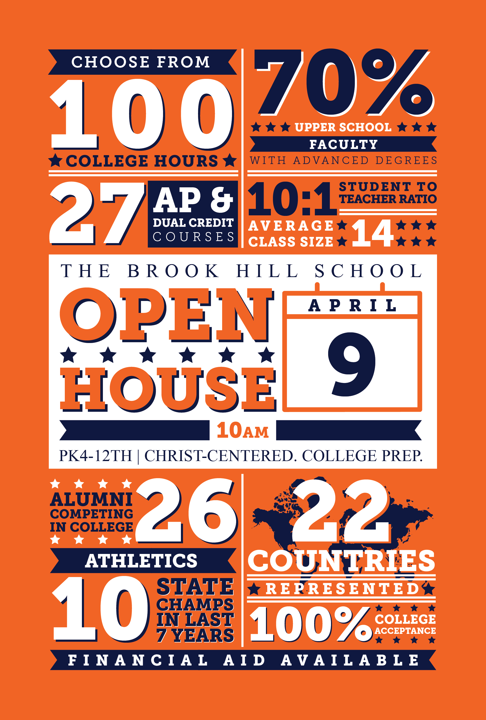 Open House Coming April 9th | Brook Hill School | Tyler, TX